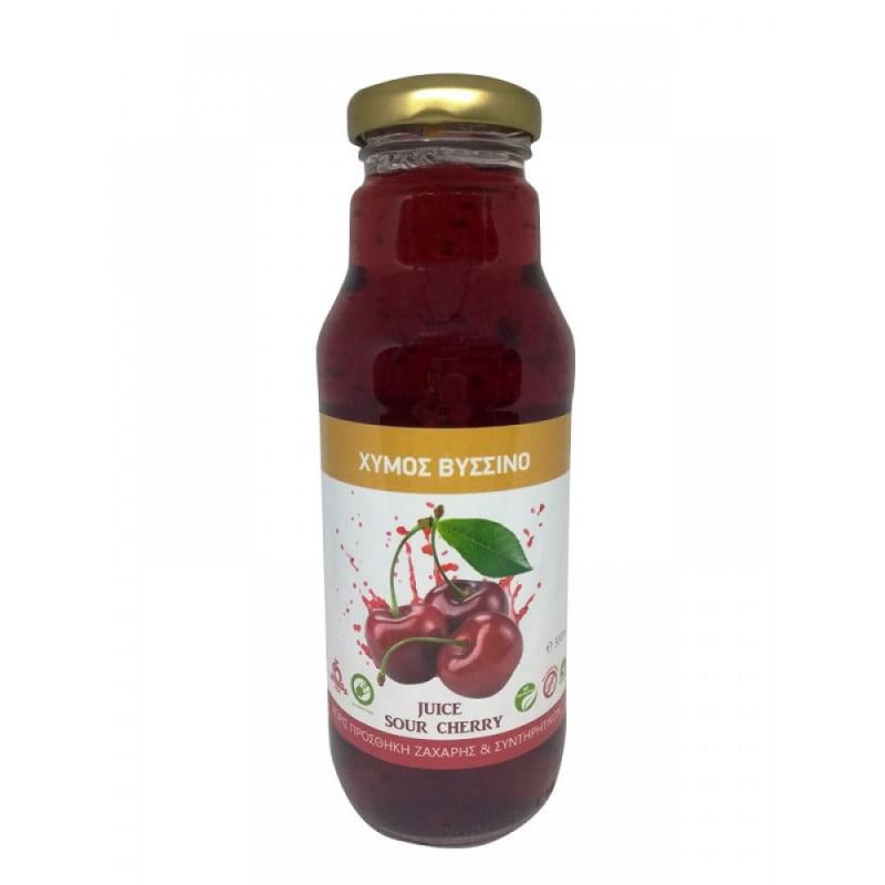 Φυσικός χυμός βύσσινο 300ml, Health Trade