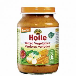 Βιολογικά ανάμεικτα λαχανικά σε βάζο 190g, Holle