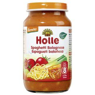 Βιολογικά μακαρόνια με σάλτσα Bolognese σε βάζο 220g, Holle