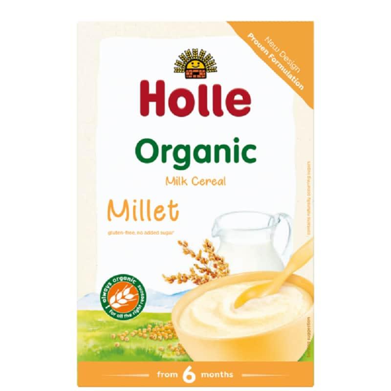 Βιολογική βρεφική κρέμα κεχρί με γάλα 250g, Holle