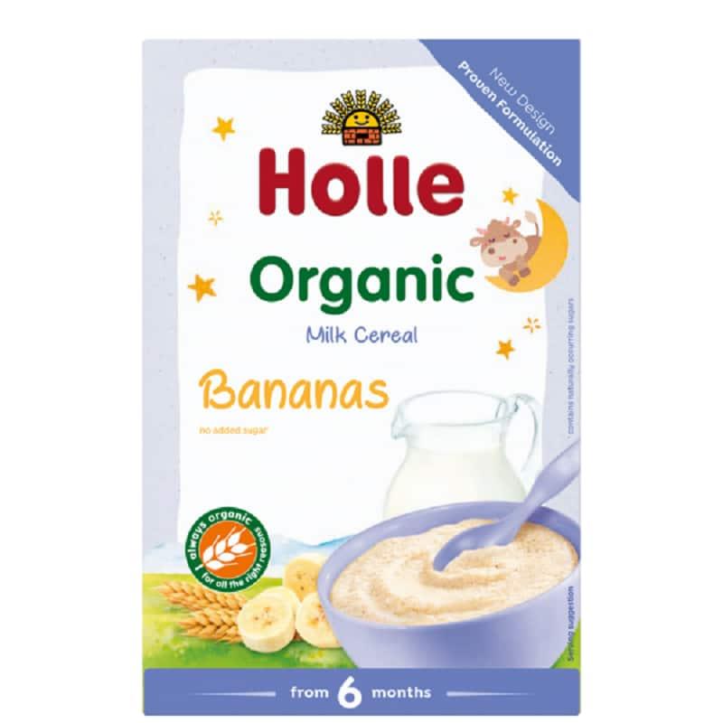 Βιολογική κρέμα μπανάνα με γάλα 250g, Holle