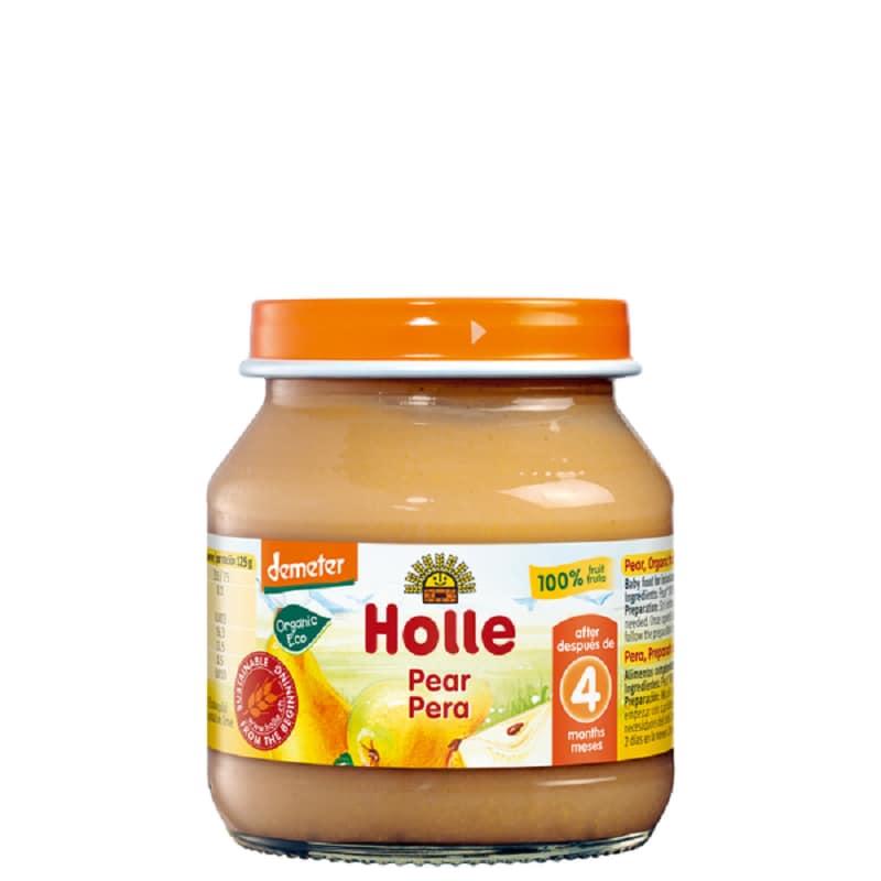 Βιολογικό αχλάδι σε βάζο 125g, Holle