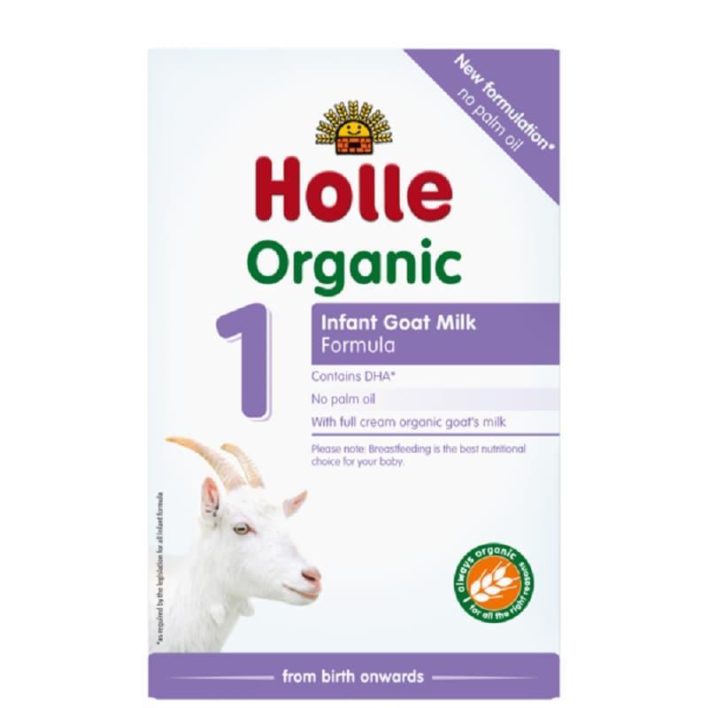 Βιολογικό βρεφικό κατσικίσιο γάλα φόρμουλα Νο1 400g, Holle
