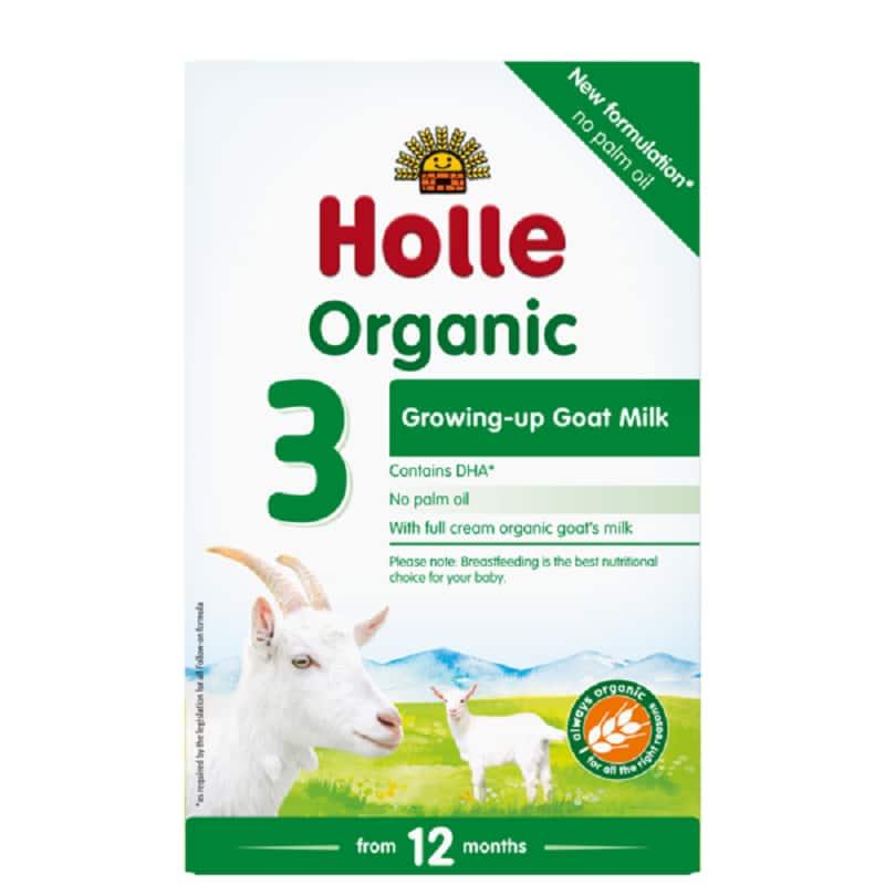 Βιολογικό βρεφικό κατσικίσιο γάλα φόρμουλα Νο3 (από τον 12ο μήνα) 400g, Holle