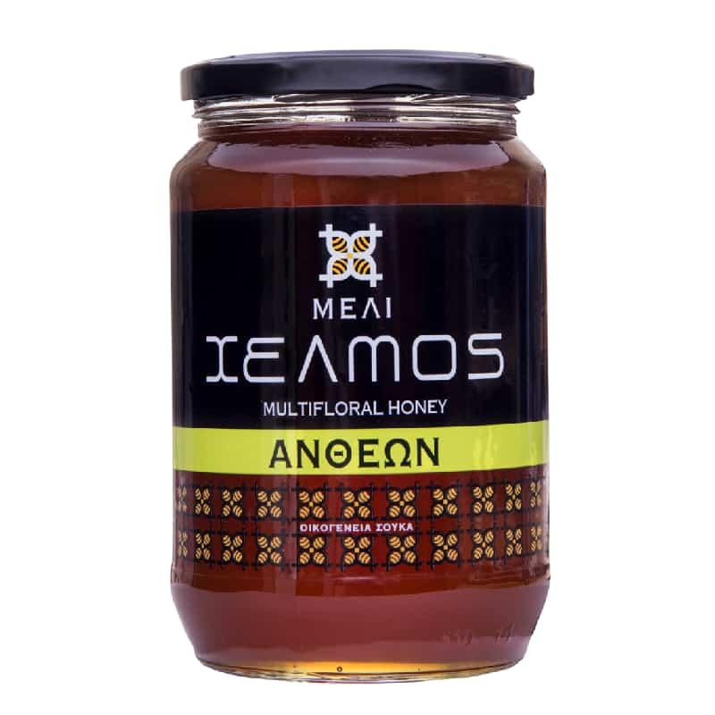 Μέλι ανθέων 950g, Χελμός