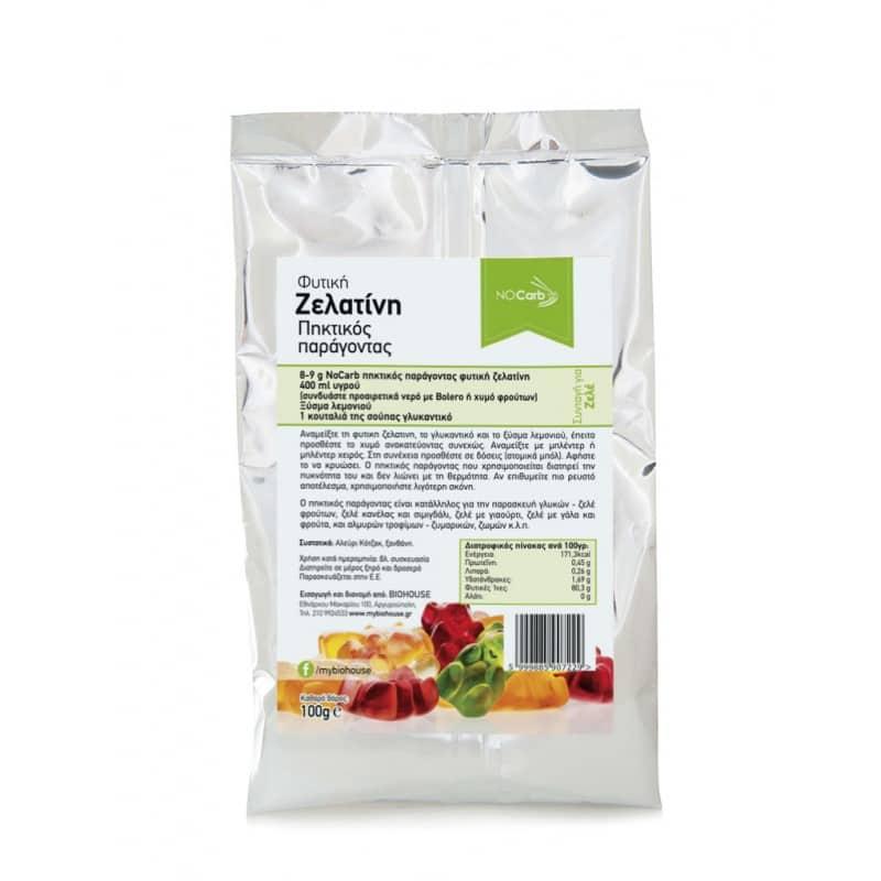 Φυτική ζελατίνη 100g, NoCarb