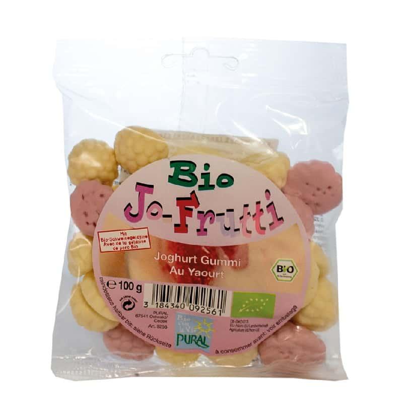 Βιολογικά ζαχαρωτά με γιαούρτι 100g, Pural
