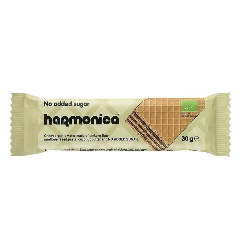 Βιολογική γκοφρέτα μονόκοκκου σίτου 30g, harmonica