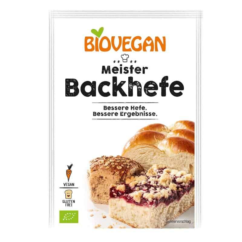 Βιολογική ξερή μαγιά 7g, Biovegan