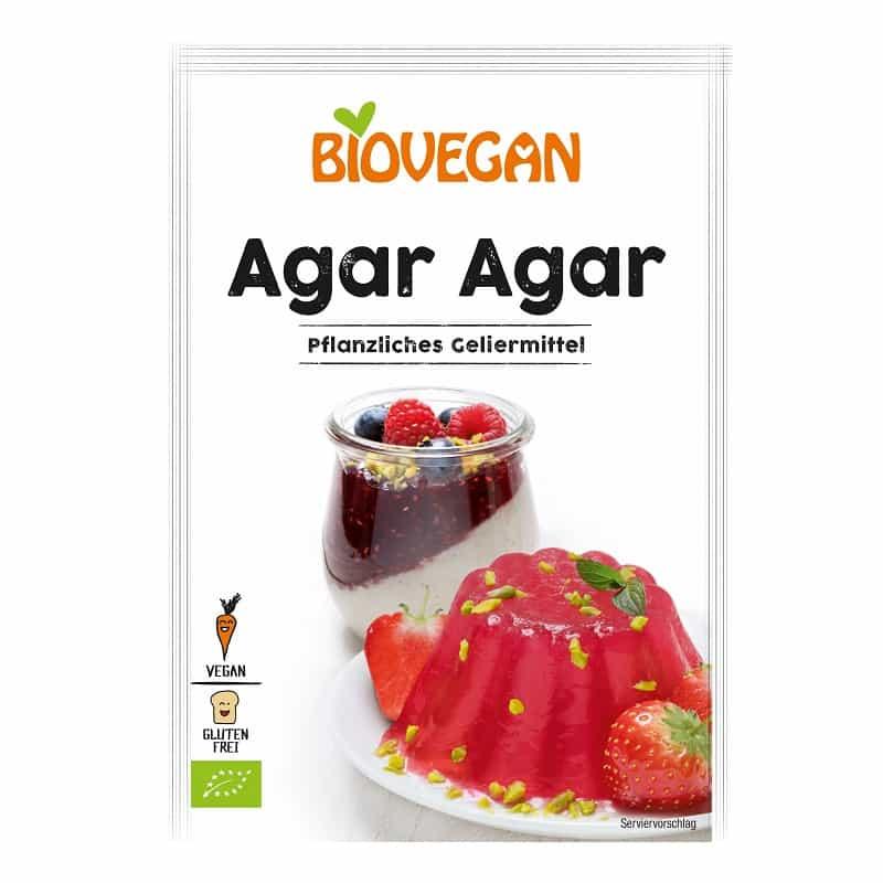 Βιολογική φυτική ζελατίνη αγάρ αγάρ 30g, Biovegan
