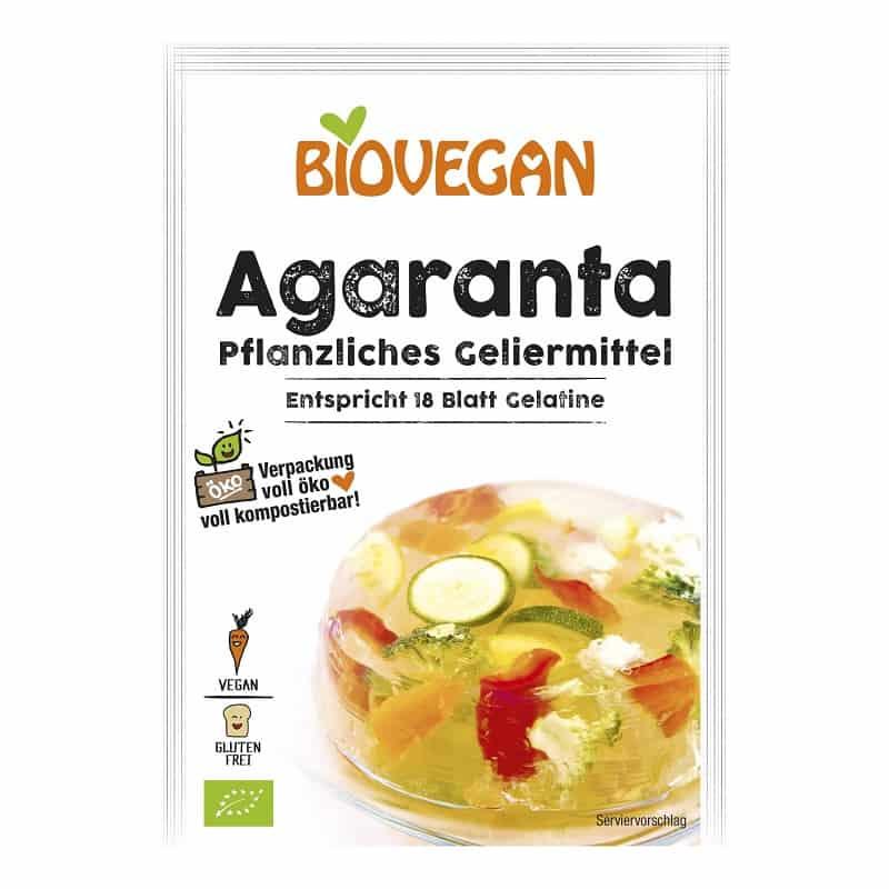 Βιολογικό γλάσο (ζελατίνη) για γλυκά 18g, Biovegan