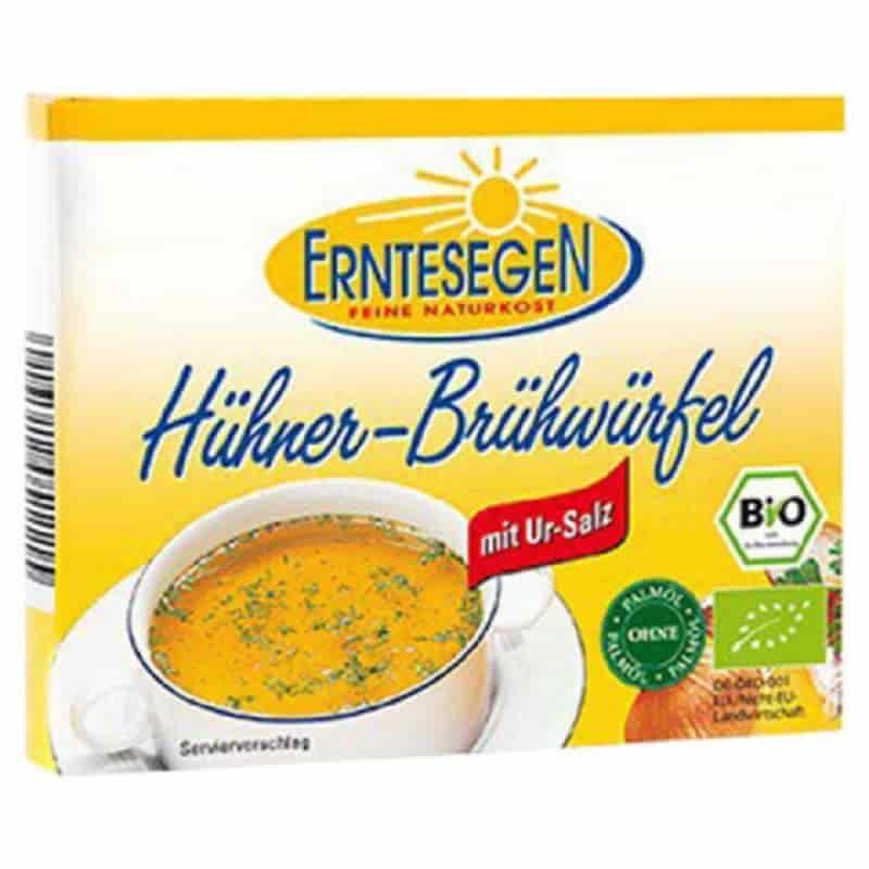 Βιολογικοί κύβοι μαγειρικής με κοτόπουλο 66g, Erntesegen