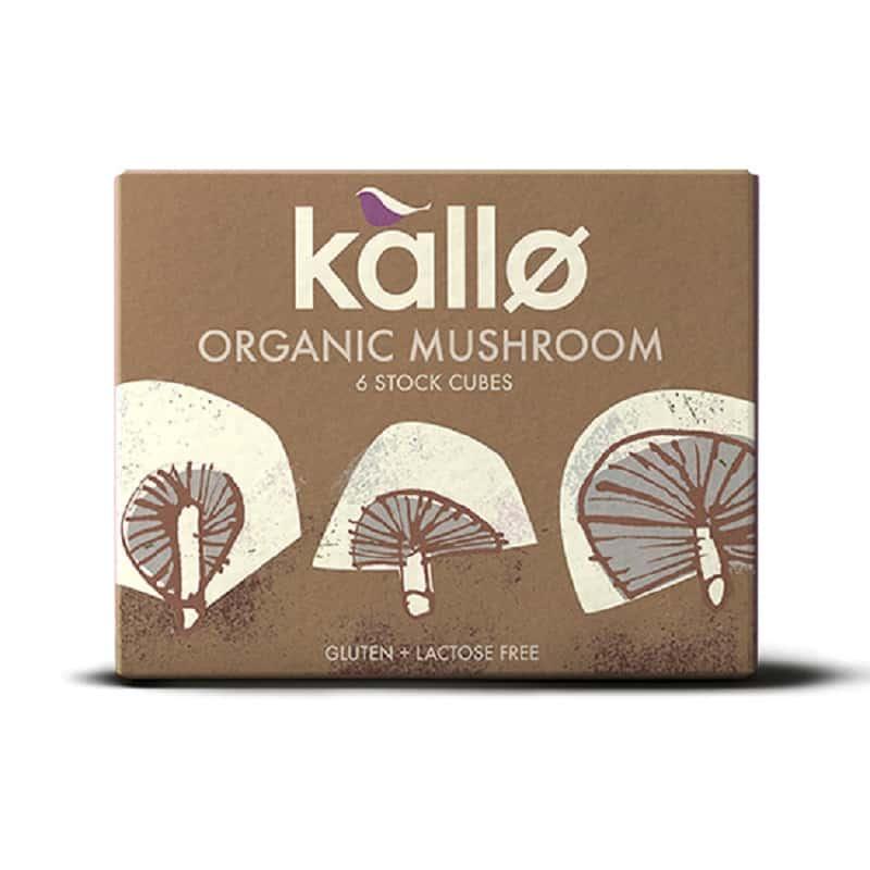 Βιολογικοί κύβοι μαγειρικής με μανιτάρι 66g, Kallo