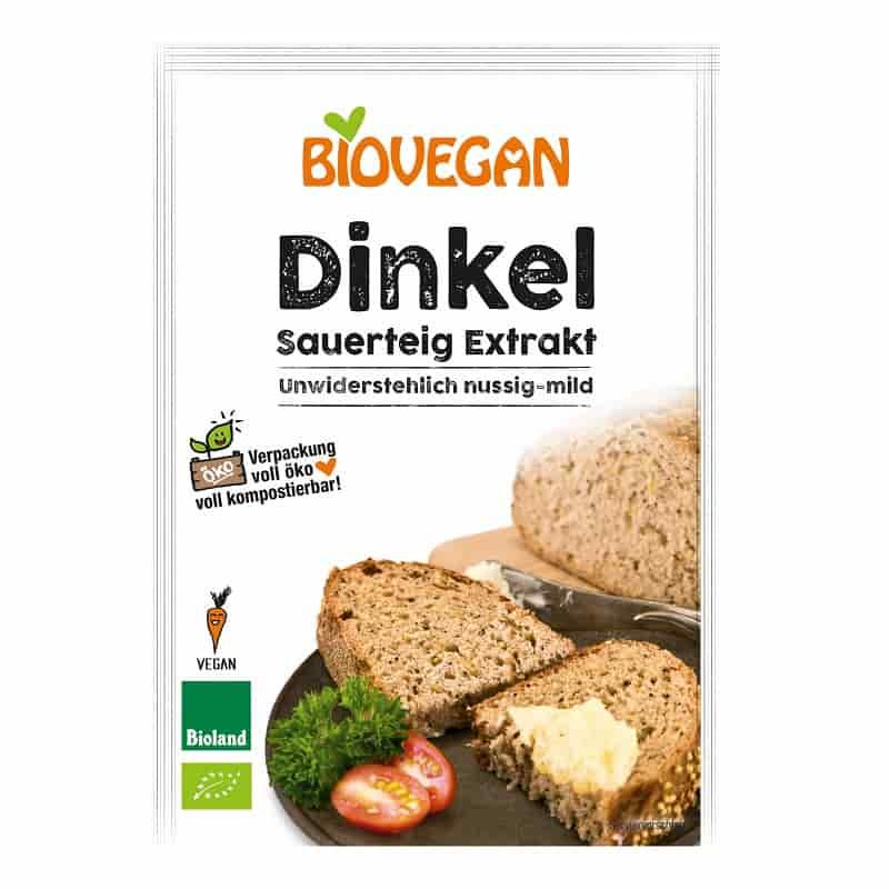 Βιολογικό προζύμι ντίνκελ 30g, Biovegan
