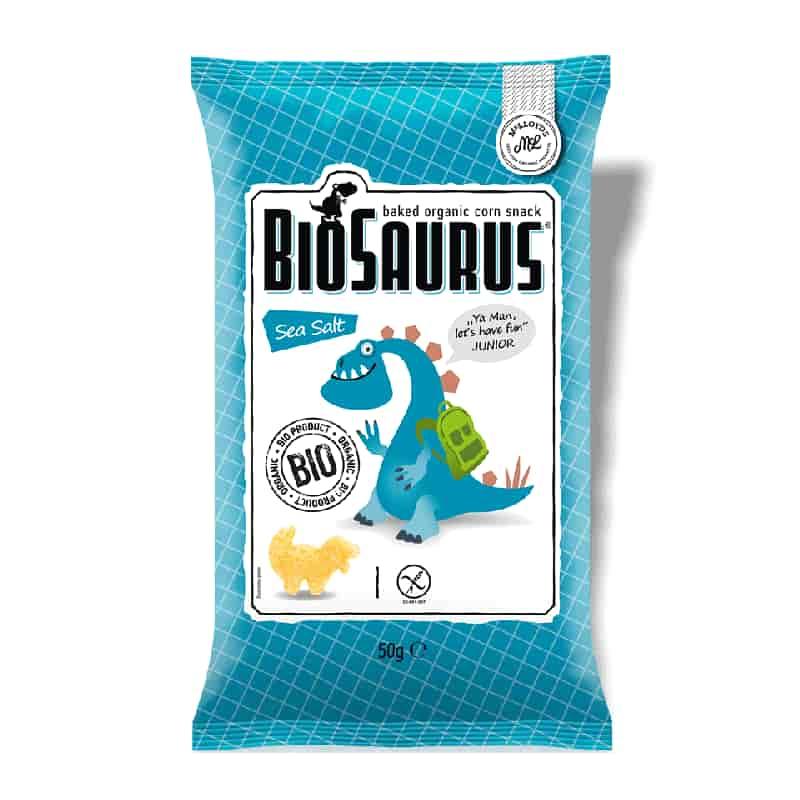 Βιολογικά παιδικά γαριδάκια με θαλασσινό αλάτι 50g, McLloyd's