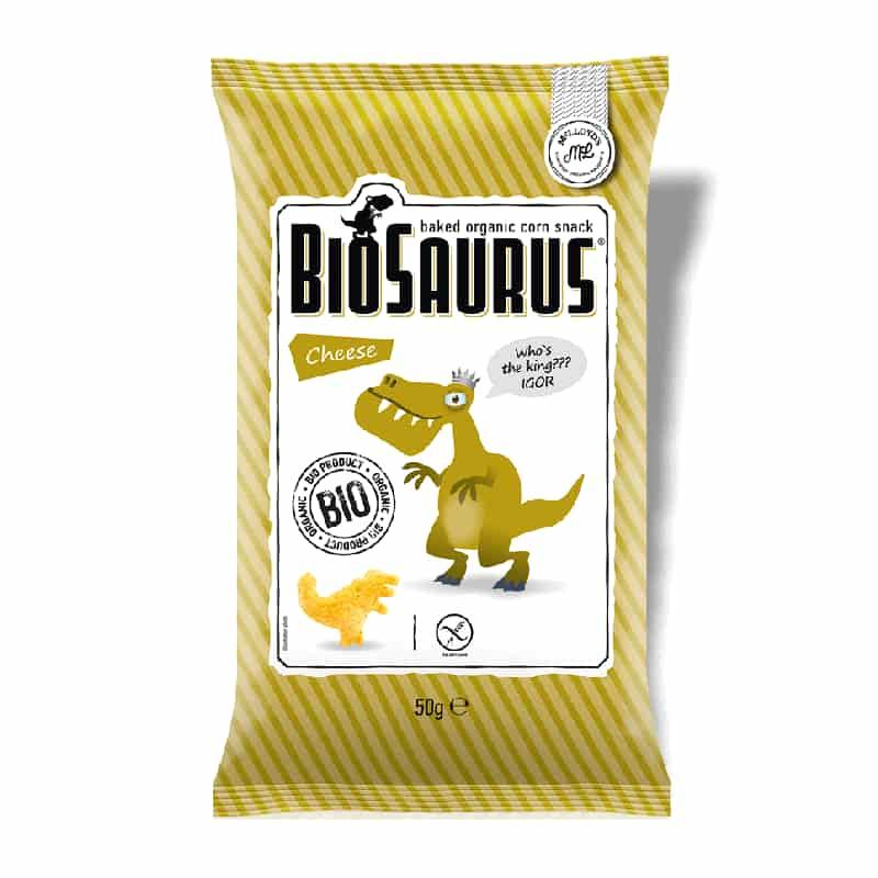 Βιολογικά παιδικά γαριδάκια με τυρί 50g, McLloyd's