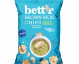 Βιολογικά τσιπς καστανού ρυζιού με chia & κινόα 60g, bettr
