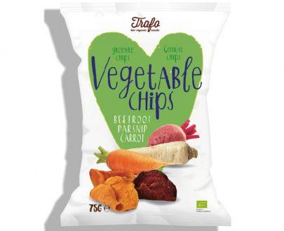 Βιολογικά τσιπς λαχανικών 75g, Trafo