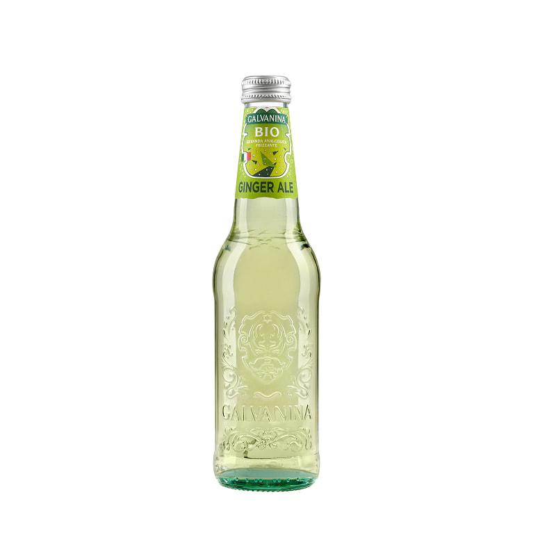 Βιολογική μπύρα πιπερόριζας (Τζιτζιμπίρα) 355ml, Galvanina