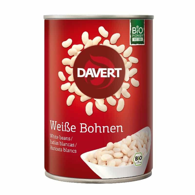 Βιολογικό έτοιμο γεύμα με λευκά φασόλια 400g, Davert