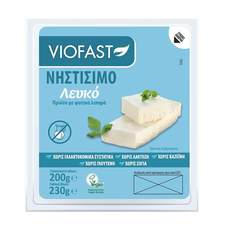 Φυτικό λευκό τυρί 200g, Viofast